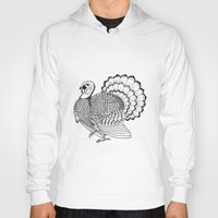 turkey Hoodies featuring Turkey by Martin Stolpe Margenberg