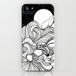 Space Vibes iPhone Case