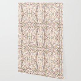Filigree Clored Lines Etiainen Wallpaper
