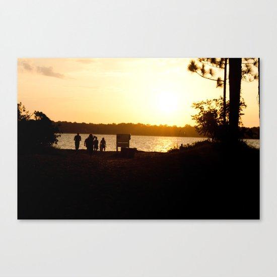 Just Friends Canvas Print