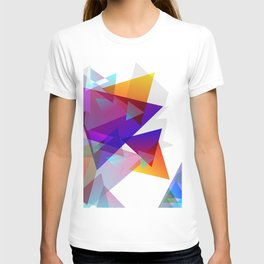 Kaleidoscopic Fragments T-shirt