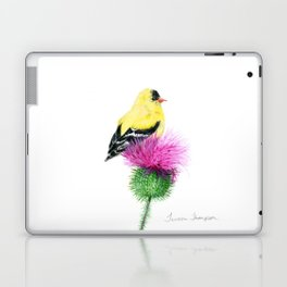 Little Goldfinch by Teresa Thompson Laptop & iPad Skin
