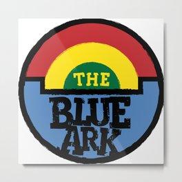 The Blue Ark Metal Print