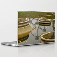 brussels Laptop & iPad Skins featuring Atomium Brussels Painted Photography by Premium
