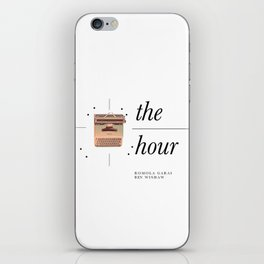 ♡ BBC's The Hour ♡ iPhone Skin