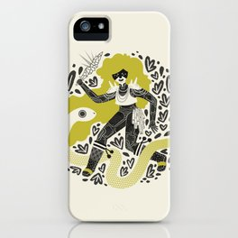 The Serpent Knight iPhone Case