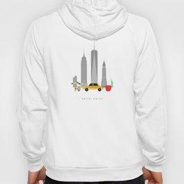 New York City, NYC Skyline Hoody
