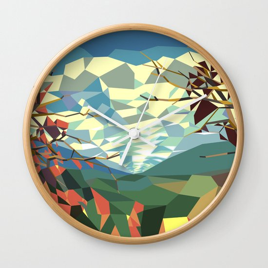 Landshape Wall Clock