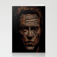 christopher walken Stationery Cards featuring Walken by Blake Byers
