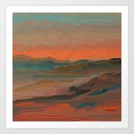 Southwestern Sunset Kunstdrucke