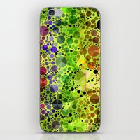 circles iPhone & iPod Skins featuring *Circles* by Mr and Mrs Quirynen