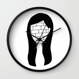 """""""All in all you're just another brick in the wall"""" Wall Clock"""