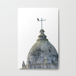 Mission Tower Carmel Metal Print