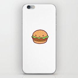 Happy Burger iPhone Skin