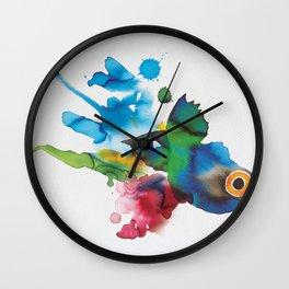 COLORFUL FISH 2 Wall Clock