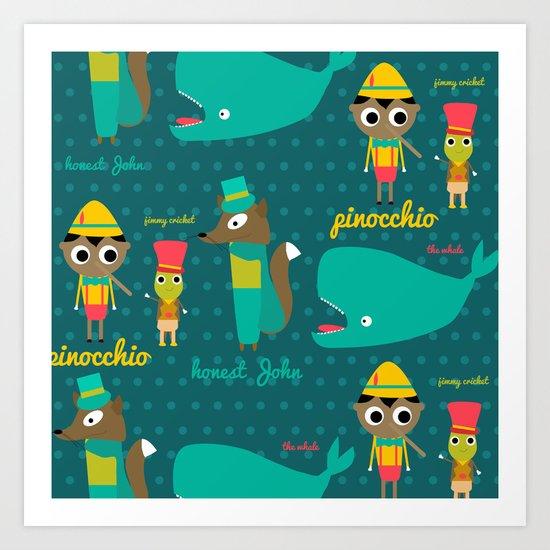 Pinocchio Art Print