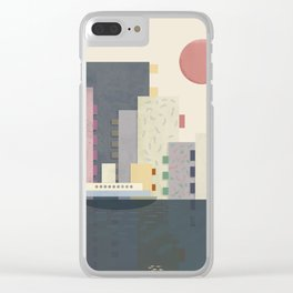 City on Earth Clear iPhone Case