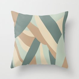 Pucciana  Forest Throw Pillow