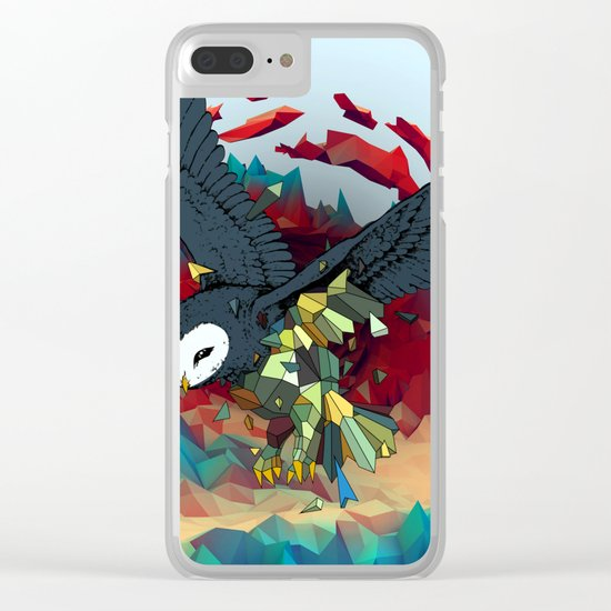 OWL X Clear iPhone Case