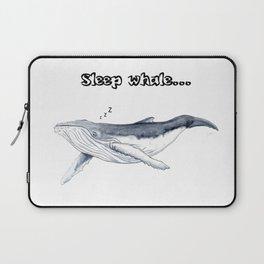 Sleep whale Laptop Sleeve