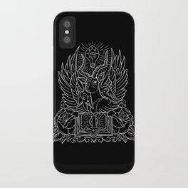 Information Antelope - White Lines iPhone Case