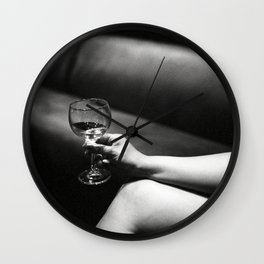 Doubles Club NYC Wall Clock