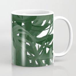 Monstera Jungle Paint Coffee Mug