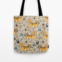 STEM Cats Tote Bag
