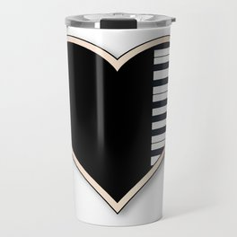 Love Piano Travel Mug