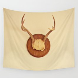Warm Antler Wall Tapestry