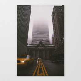 Dreary Central Canvas Print