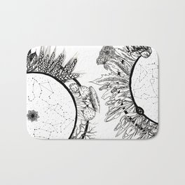 Cosmic Wheel Bath Mat