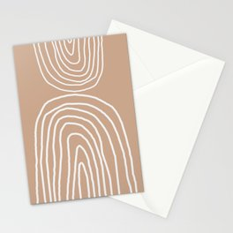 Abstract Rainbow, Stationery Cards