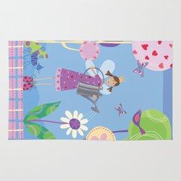 Fairy in the Garden Rug