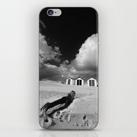 Southwold Beach huts iPhone & iPod Skin
