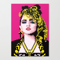 Virgin-like girl Canvas Print