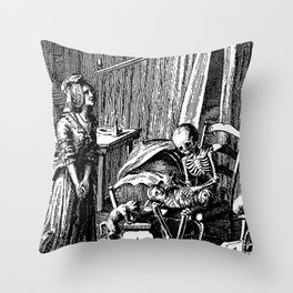 DEATH of CHILD Throw Pillow