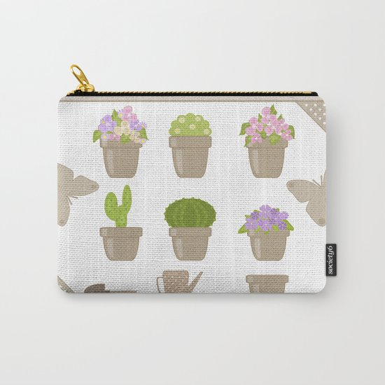 A wonderful design for those who are fond of plants , flowers . Carry-All Pouch