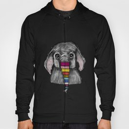 Elephant Knit Hoody