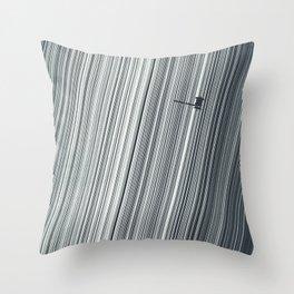 Cassini and Saturn Throw Pillow