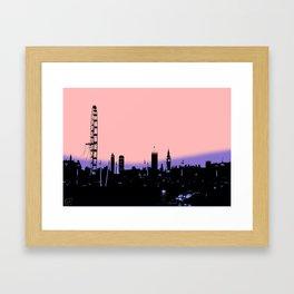 London Skylne Framed Art Print