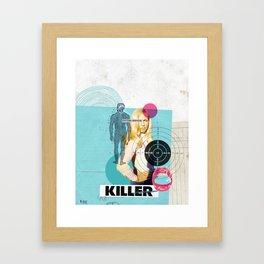 Colère Framed Art Print