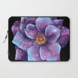 Galaxy in bloom Laptop Sleeve