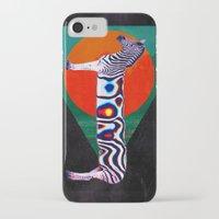 zebra iPhone & iPod Cases featuring Zebra by Ali GULEC