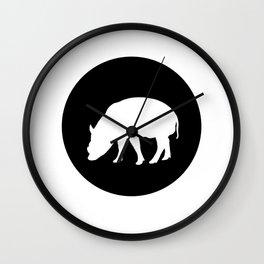 Babirusa Wall Clock