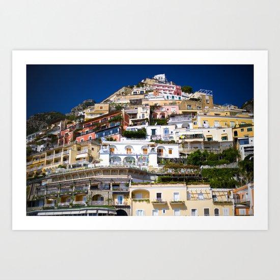 Positano Italy Art Print