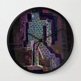 Experimental Robotic Lab Wall Clock