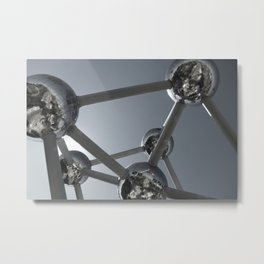 Brussels Giant Atoms Metal Print