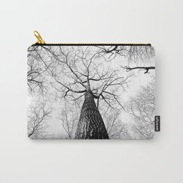 High in the Sky- Photo of top of tree from ground looking up Carry-All Pouch