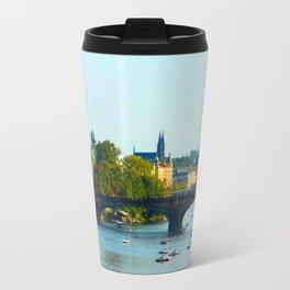 Vltava   Prague Travel Mug